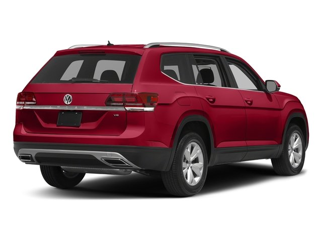 Fortana Red Metallic 2018 Volkswagen Atlas Pictures Atlas 3.6L V6 Launch Edition FWD *Ltd Avail* photos rear view
