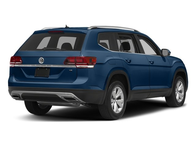Tourmaline Blue Metallic 2018 Volkswagen Atlas Pictures Atlas 3.6L V6 S 4MOTION photos rear view