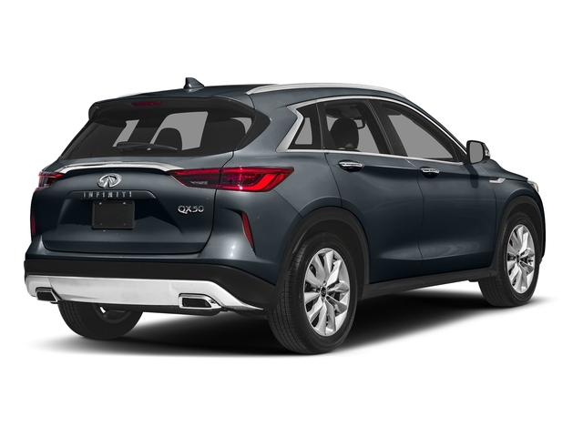 Hermosa Blue 2019 INFINITI QX50 Pictures QX50 LUXE FWD photos rear view