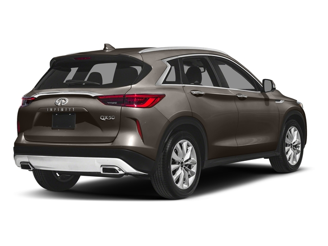 Chestnut Bronze 2019 INFINITI QX50 Pictures QX50 LUXE FWD photos rear view