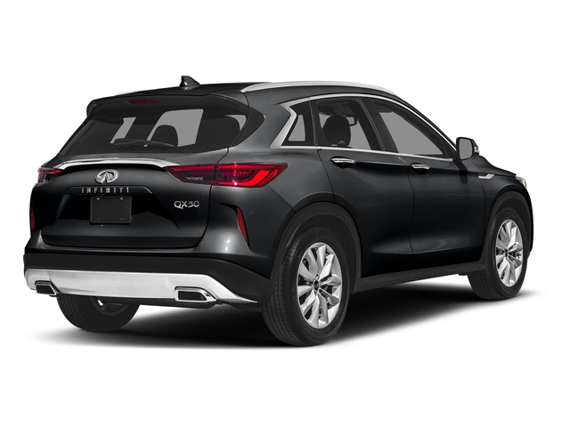 Eclipse Black 2019 INFINITI QX50 Pictures QX50 LUXE FWD photos rear view