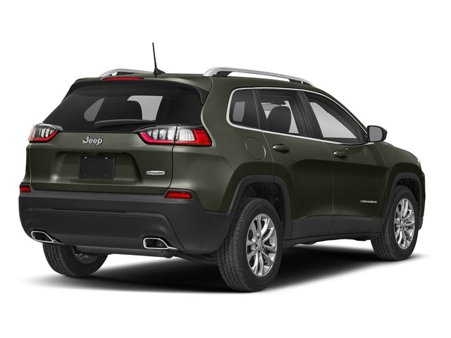 Olive Green Pearlcoat 2019 Jeep Cherokee Pictures Cherokee Latitude FWD photos rear view