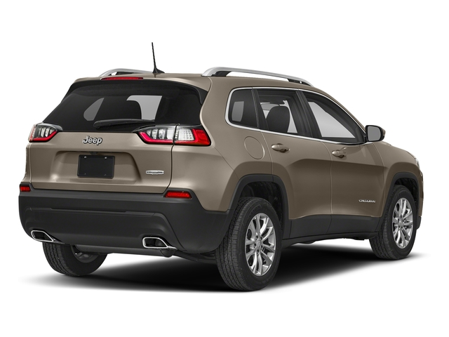 Light Brownstone Pearlcoat 2019 Jeep Cherokee Pictures Cherokee Latitude Plus FWD photos rear view