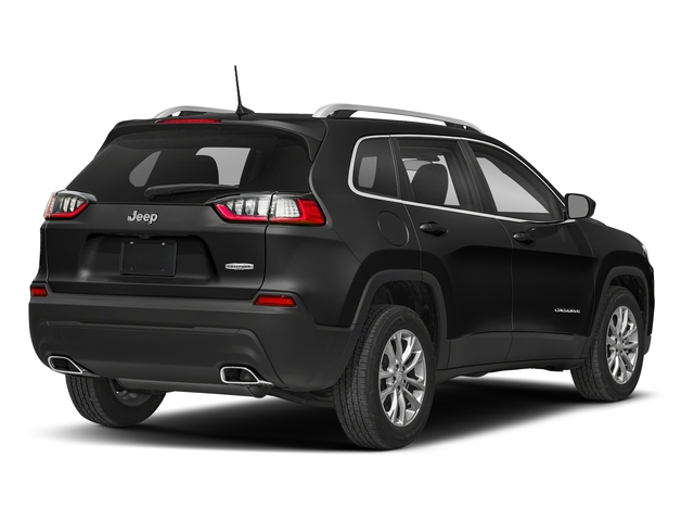 Diamond Black Crystal Pearlcoat 2019 Jeep Cherokee Pictures Cherokee Latitude Plus FWD photos rear view