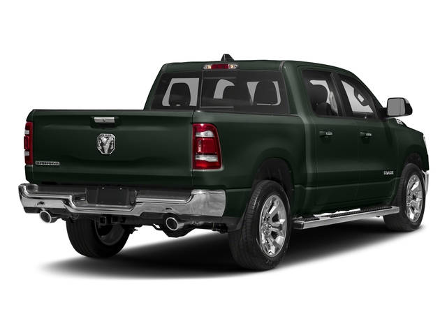 Black Forest Green Pearlcoat 2019 Ram Truck 1500 Pictures 1500 Laramie 4x2 Crew Cab 6'4 Box photos rear view
