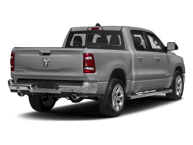 Billet Silver Metallic Clearcoat 2019 Ram Truck 1500 Pictures 1500 Laramie 4x2 Crew Cab 6'4 Box photos rear view