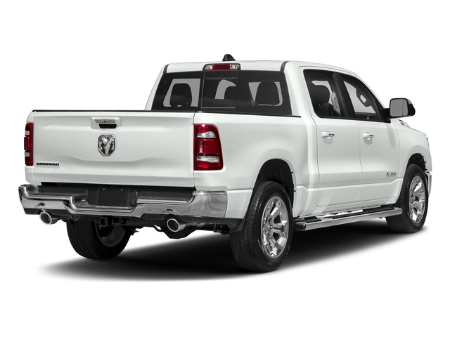 Bright White Clearcoat 2019 Ram Truck 1500 Pictures 1500 Tradesman 4x2 Crew Cab 5'7 Box photos rear view