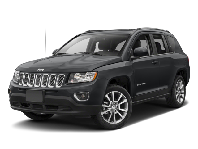 Black 2017 Jeep Compass High Altitude