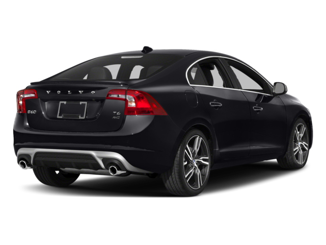 2017 Volvo S60 T6 Awd R Design Platinum Side Rear View