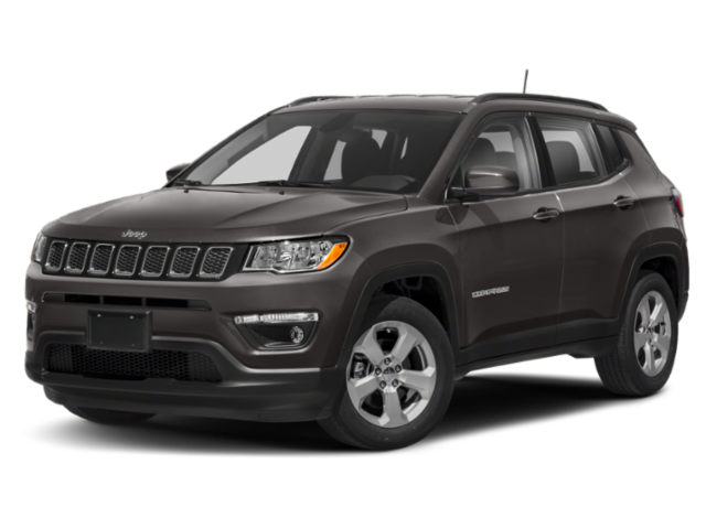 2019 Jeep Compass Trailhawk Silver