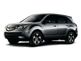 2008 Acura MDX Pictures MDX Utility 4D Technology DVD AWD photos side front view