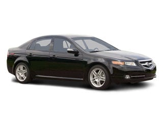 2008 Acura TL Pictures TL Sedan 4D 3.2 photos side front view