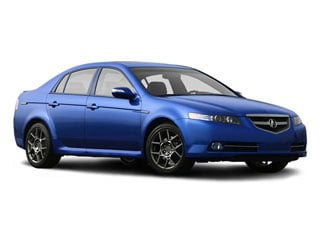 2008 Acura TL Pictures TL Sedan 4D S 3.5 photos side front view