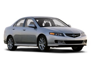 2008 Acura TSX Pictures TSX Sedan 4D photos side front view