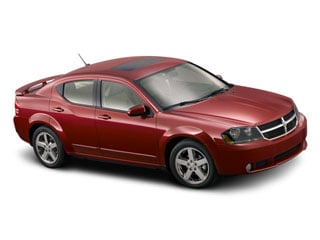 2008 Dodge Avenger Pictures Avenger Sedan 4D R/T AWD photos side front view