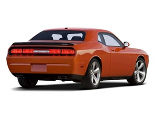 2008 Dodge Challenger Pictures Challenger Coupe 2D SRT-8 photos side rear view