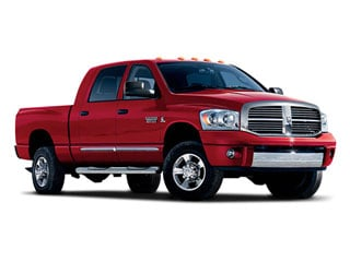 2008 Dodge Ram 2500 Pictures Ram 2500 Mega Cab Laramie 4WD photos side front view