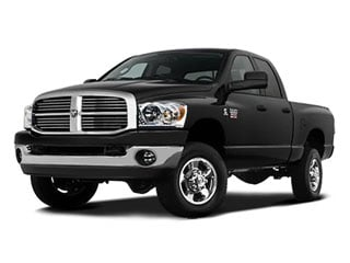 2008 Dodge Ram 2500 Pictures Ram 2500 Quad Cab SLT 4WD photos side front view