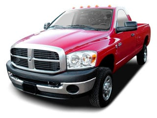 2008 Dodge Ram 2500 Pictures Ram 2500 Regular Cab SLT 2WD photos side front view