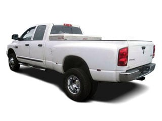 2008 Dodge Ram 3500 Pictures Ram 3500 Mega Cab Laramie 2WD T-Diesel photos side rear view