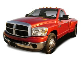 2008 Dodge Ram 3500 Pictures Ram 3500 Regular Cab ST 4WD photos side front view