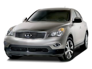 2008 INFINITI EX35 Pictures EX35 Wagon 4D Journey 2WD photos side front view