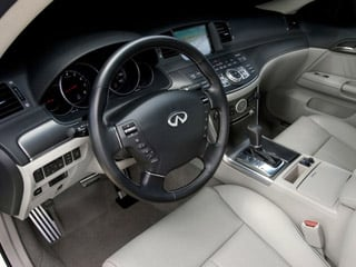 2008 INFINITI M45 Pictures M45 Sedan 4D photos full dashboard