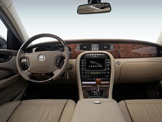 2008 Jaguar XJ Pictures XJ Sedan 4D L photos full dashboard