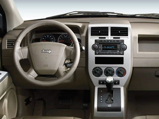 2008 Jeep Compass Pictures Compass Utility 4D Sport 2WD photos full dashboard