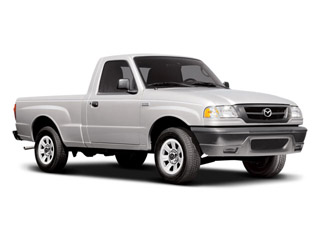2008 Mazda B-Series Truck Pictures B-Series Truck Base 2WD photos side front view