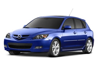 2008 Mazda Mazda3 Pictures Mazda3 Wagon 5D s GT photos side front view