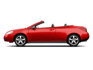 2008 Pontiac G6 Pictures G6 Convertible 2D GT photos side view