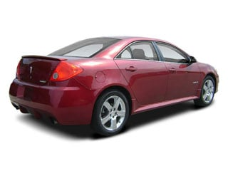 2008 Pontiac G6 Pictures G6 Sedan 4D GXP photos side rear view