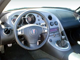 2008 Pontiac Solstice Pictures Solstice Roadster 2D photos driver's dashboard