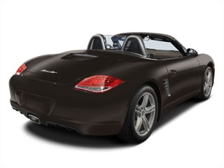 2008 Porsche Boxster Pictures Boxster 2 Door RS60 Limited Edition photos side rear view