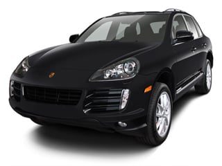 2008 Porsche Cayenne Pictures Cayenne Utility 4D Turbo AWD (V8) photos side front view