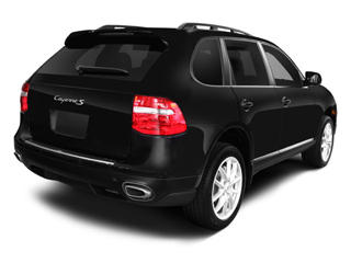 2008 Porsche Cayenne Pictures Cayenne Utility 4D Turbo AWD (V8) photos side rear view