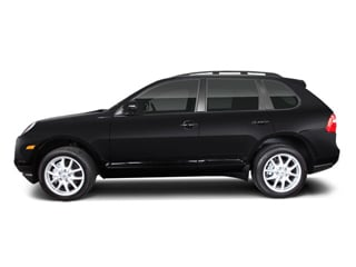 2008 Porsche Cayenne Pictures Cayenne Utility 4D Turbo AWD (V8) photos side view