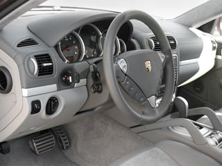 2008 Porsche Cayenne Pictures Cayenne Utility 4D S AWD (V8) photos full dashboard