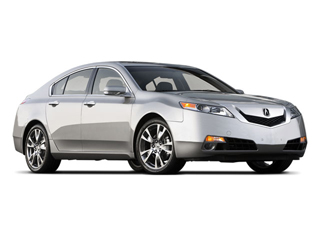 2009 Acura TL Pictures TL Sedan 4D AWD photos side front view