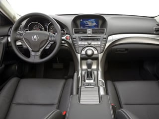 2009 Acura TL Pictures TL Sedan 4D Technology AWD photos full dashboard