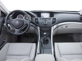 2009 Acura TSX Pictures TSX Sedan 4D photos full dashboard