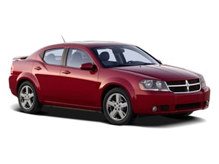 2009 Dodge Avenger Pictures Avenger Sedan 4D SXT photos side front view