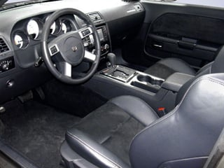 2009 Dodge Challenger Pictures Challenger Coupe 2D SRT-8 photos full dashboard