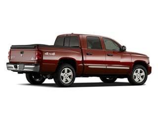 2009 Dodge Dakota Pictures Dakota Quad Cab TRX 4WD photos side rear view