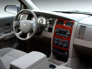 2009 Dodge Durango Pictures Durango Utility 4D SLT 4WD photos full dashboard