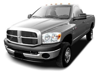 2009 Dodge Ram 2500 Pictures Ram 2500 Regular Cag SXT 2WD photos side front view