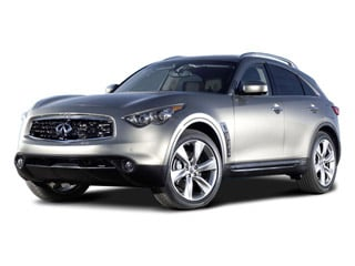 2009 INFINITI FX35 Pictures FX35 FX35 2WD photos side front view