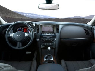 2009 INFINITI FX35 Pictures FX35 FX35 2WD photos full dashboard