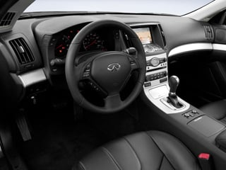 2009 INFINITI G37 Coupe Pictures G37 Coupe 2D x AWD photos full dashboard